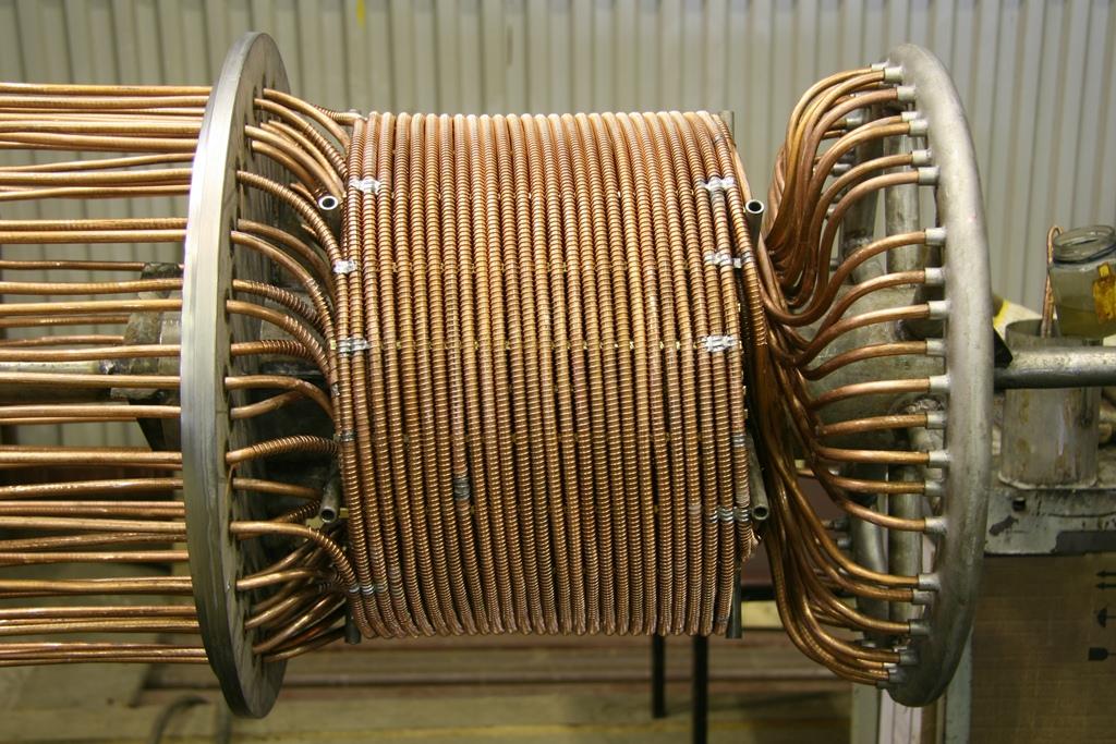 Цена теплообменник витой газовые котлы стальной теплообменник